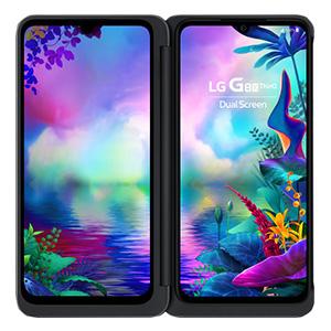LG smartphone dubbel scherm
