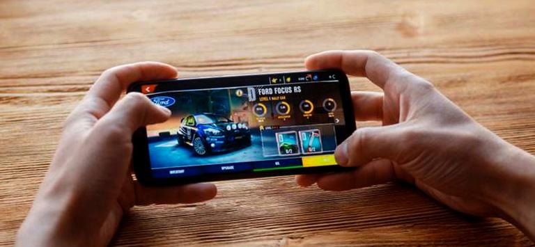 gamen op smartphone
